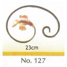 Καράβολο Κάγκελου 127 Διακοσμητικό Μεταλλικό