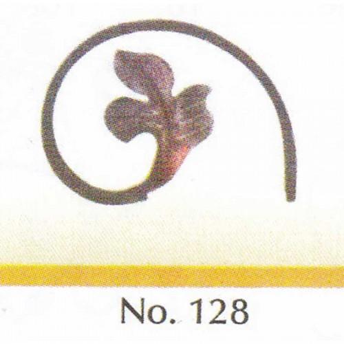 Καράβολο Κάγκελου 128 Διακοσμητικό Μεταλλικό