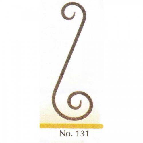 Καράβολο Κάγκελου 131 Διακοσμητικό Μεταλλικό