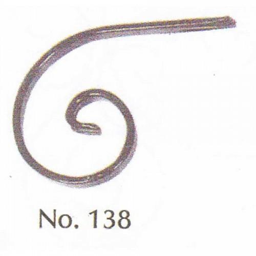 Καράβολο Κάγκελου 138 Διακοσμητικό Μεταλλικό