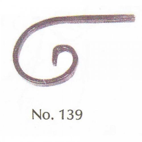 Καράβολο Κάγκελου 139 Διακοσμητικό Μεταλλικό