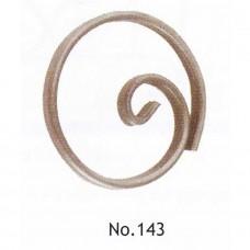 Καράβολο Κάγκελου 143 Κύκλος Διακοσμητικό Μεταλλικό