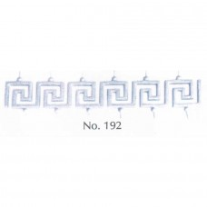 Μέανδρος Νο 192 Διακοσμητικό Μεταλλικό Εξάρτημα