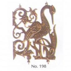 Πελαργός Νο 198 Διακοσμητικό Μεταλλικό Εξάρτημα
