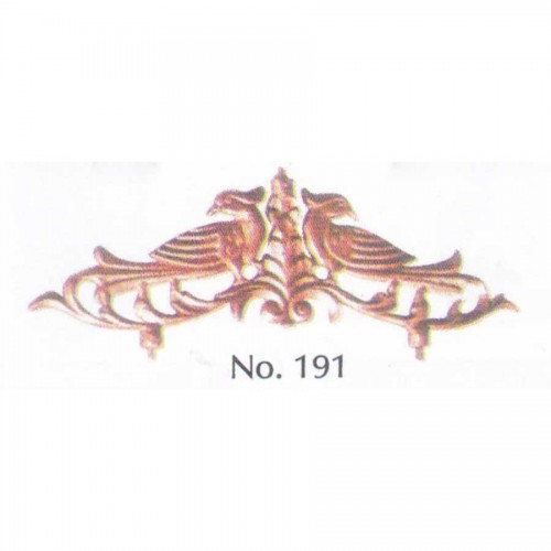 Πουλιά Νο 191 Διακοσμητικό Μεταλλικό Εξάρτημα