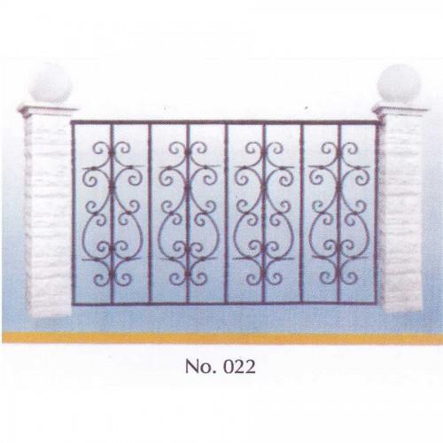 Κάγκελο Μπαλκονιού 022 [τιμή μέτρου]