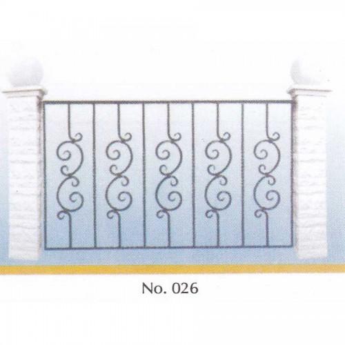 Κάγκελο Μπαλκονιού 026 [τιμή μέτρου]