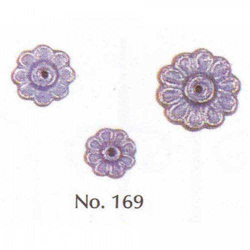 Μεταλλικό Εξάρτημα Λουλούδι Νο 169